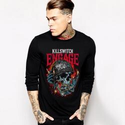 Cool Rock Music Team Killswitch Engage Tshirt Long Sleeve