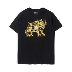 Cool Saint Seiya Taurus Tshirt Hot stamping Tee