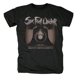 Cool Six Feet Under Band T-Shirt Metal Rock Tshirts
