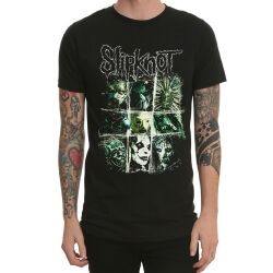 Cool Slipknot Heavy Metal Rock T-Shirt Black