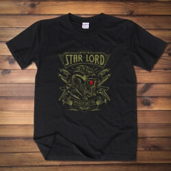 Cool Start Lord T-shirt Guardians Of The Galaxy 2 Red Wine Tee