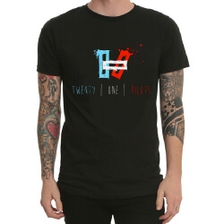 Cool Twenty One Pilots Rock Band T-Shirt for Youth