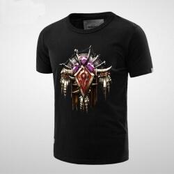 Cool World of Warcraft Horde Logo T-shirt for Men