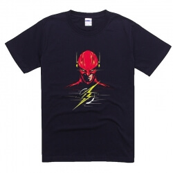 Creative Design Printing Shirt The Flash Tee Teenagers