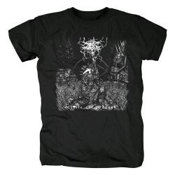 Darkthrone Circle The Wagons T-Shirt Black Metal Shirts