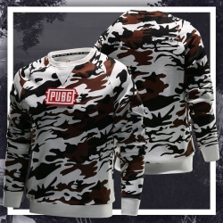Desert Camouflage Battlegrounds Hoodie Pubg Couple Sweatshirt