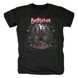 Destruction Band Born To Perish T-Shirt Metal Tshirts