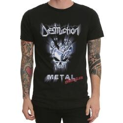 Destruction Band Rock T-Shirt Black Heavy Metal