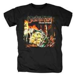 Destruction Band Thrash Anthems Tee Shirts Metal T-Shirt