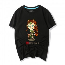 Dota 2 Heroes Tee Shirt Enchantress Shirts
