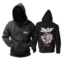 Edguy Age Of The Joker Hooded Sweatshirts Metal Rock Hoodie