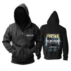 Fear Factory Hooded Sweatshirts Metal Punk Hoodie