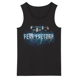 Fear Factory Sleeveless Tees Metal Punk Tank Tops