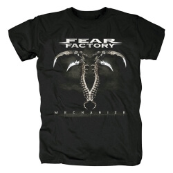 Fear Factory Tee Shirts Metal Punk T-Shirt
