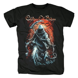 Finland Metal Graphic Tees Children Of Bodom Band T-Shirt