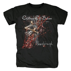 Finland Metal Punk Rock Band Tees Children Of Bodom T-Shirt