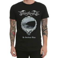 Finntroll Band Rock T-Shirt Black Heavy Metal T