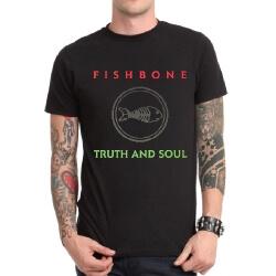 Fishbone Band Rock T-Shirt Black Heavy Metal T
