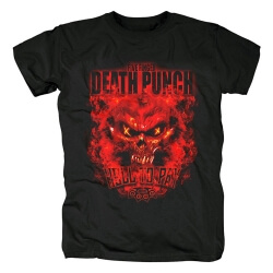Five Finger Death Punch Hell To Pay Tee Shirts California Metal Rock T-Shirt