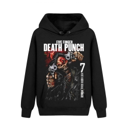 Five Finger Death Punch Hooded Sweatshirts California Hard Rock Music Hoodie