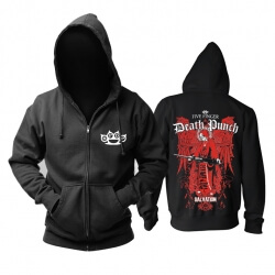 Five Finger Death Punch Hoodie California Hard Rock Metal Rock Band Sweatshirts