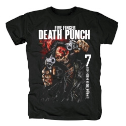 Five Finger Death Punch Justice For None Tshirts California Hard Rock T-Shirt