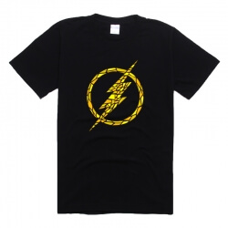The Flash Printing Tee Short SLeeve Tshirt Plus Size