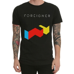 Foreigner Rock Band Tshirt for Mens