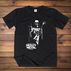 Funny Heavy Metal Style Darth Vader T-shirt