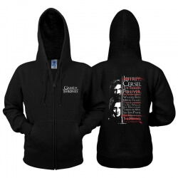 Game of Thrones Arya Stark and Jon Snow Hoodie
