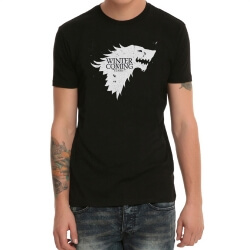 Game of Thrones Black Print T-Shirt