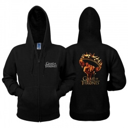 Game of Thrones Crown Zip Hoodie
