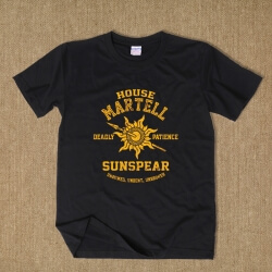 Game Of Thrones House Martell Logo T Shirt