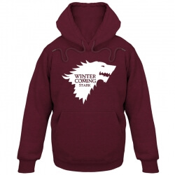 Game of Thrones Sweatshirt House Stark Hoodie