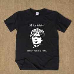 Game Of Thrones Tyrion Lannister T Shirt