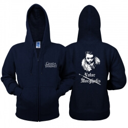 Game of Thrones Zip Sweater Arya Stark Hoodie
