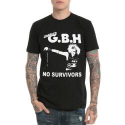 Gbh Old Heavy Metal Rock Tshirt Black