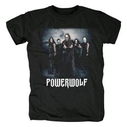 Germany Hard Rock Black Metal Tees Powerwolf T-Shirt