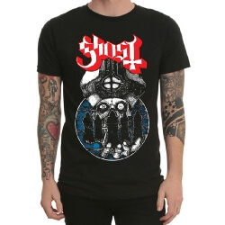 Ghost Rock Band Tee Black Mens Tshirt