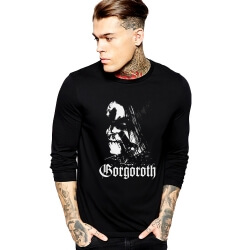 Gorgoroth Tee Shirt Long Sleeve Rock Shirt