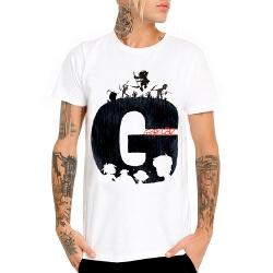 Gorillaz Rock T-Shirt Heavy Metal White Tee