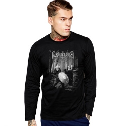 Graveland Long Sleeve T-Shirt Rock Polish Black Heavy Metal Tee