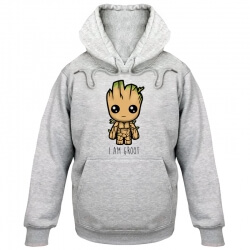 Guardians of the Galaxy i am groot pullover hoodie unisex