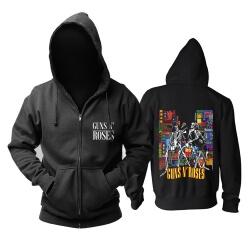 Guns N'Roses Hoodie Punk Rock Band Sweat Shirt