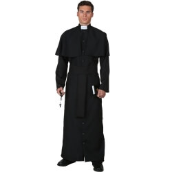Halloween Easter Priest Cosplay Costumes for Men