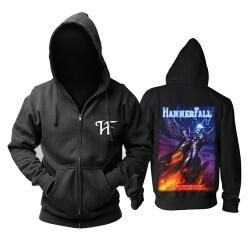 Hammerfal Hoodie Sweden Metal Punk Rock Sweatshirts