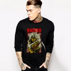 Heavy Black Metal Kylesa T-Shirt Long Sleeve Rock Tee