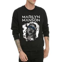 Heavy Metal Hoodie Marilyn Manson Black Sweatshrit