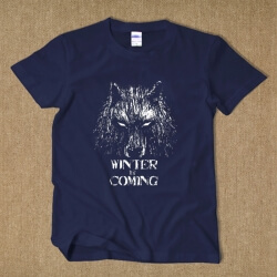 House Stark Wolf T-shirt Winter is coming Tee