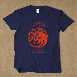 House Targaryen Dragon T-shirt Red Wine Tee